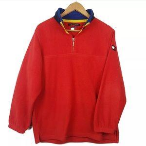 Tommy Hilfiger 1990's Vintage Fleece Pullover L
